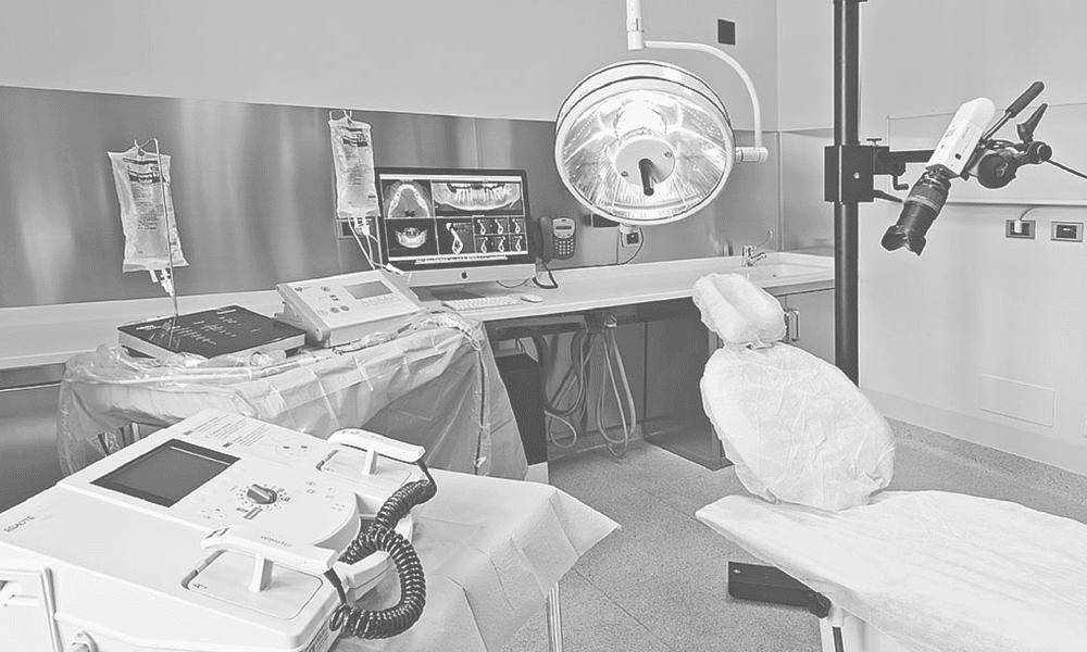 la sala chirurgica Clinica Villa